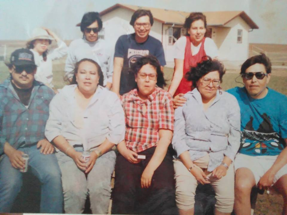 Rouse Familie Marty Yankton Sioux Reservat ca. 92-93
