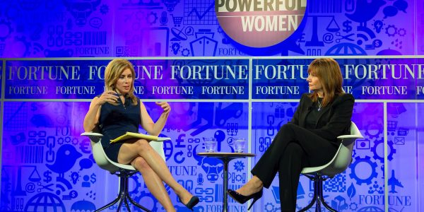 "Mary Barra beim Fortune Gespräch ""The Most Powerful Women"" (Flickr)"