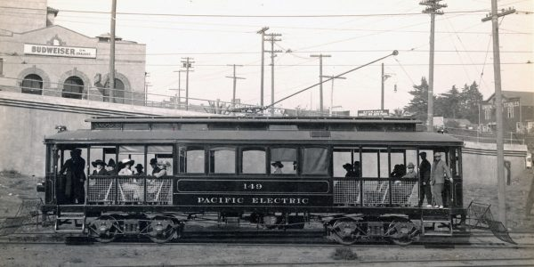 Trolley Car im Jahr 1914 (Flickr)